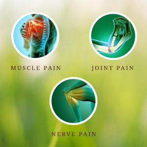 Three types of pain