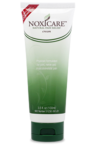 Noxicare 3.5 ounce pain relief cream tube